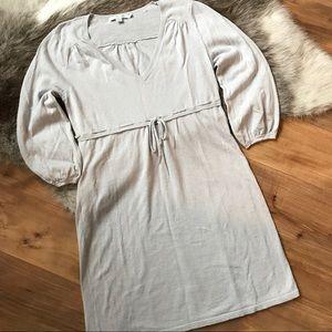 Boden Linen/Cotton Long Sleeve Dress